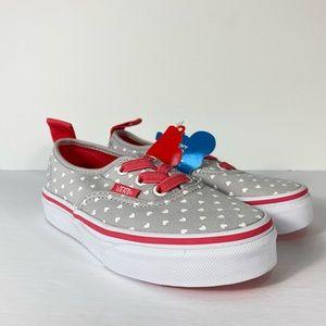 Vans Authentic Elastic Micro Heart Sneakers